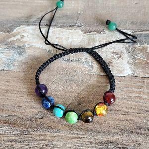 Natural gemstone bracelet. new